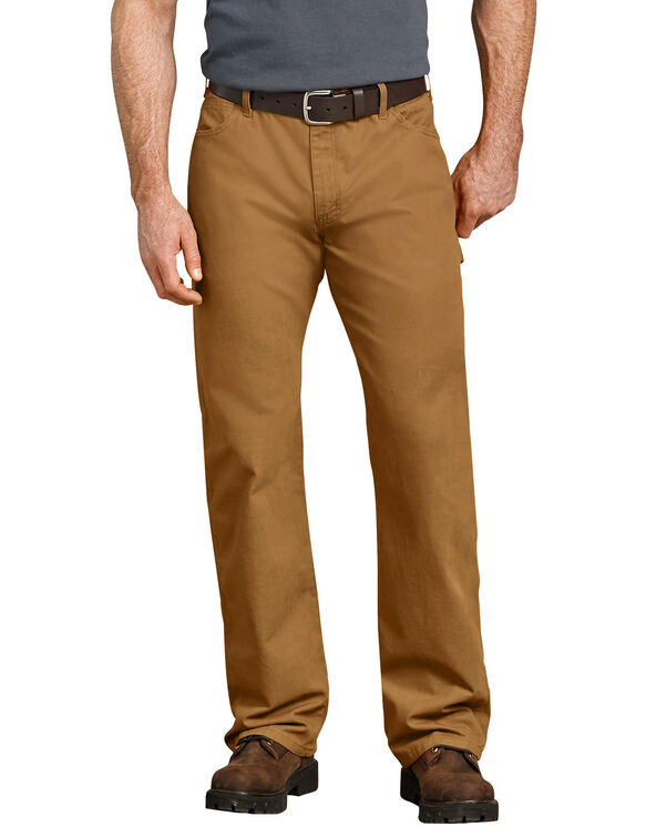 Relaxed Straight Fit Carpenter Duck Jean - RINSED BROWN DUCK (RBD)