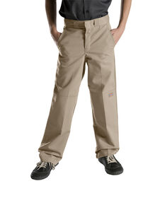 Boys' Relaxed Fit Straight Leg FlexWaist® Double Knee Pant, 8-20 - DESERT SAND (DS)
