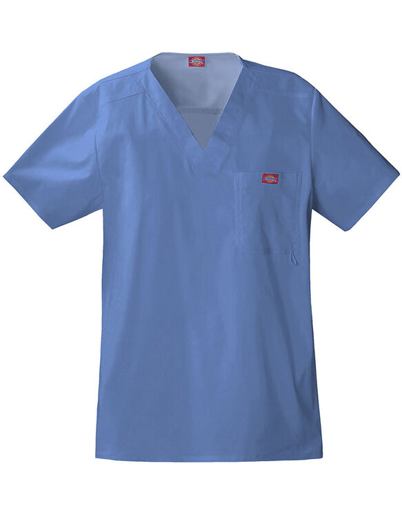 Men's Gen Flex Youtility Scrub Top - BLUE FOG-LICENSEE (BLF)