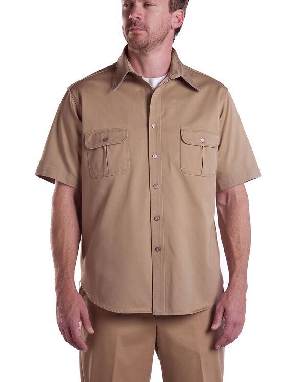 Dickies 1922 Short Sleeve Shirt - CRAMERTON SUN TAN (AS)