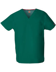 Unisex EDS V-Neck Scrub Top