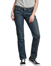 Women's Relaxed Straight Leg Denim Jean - ANTIQUE DARK 1 (ATD1)