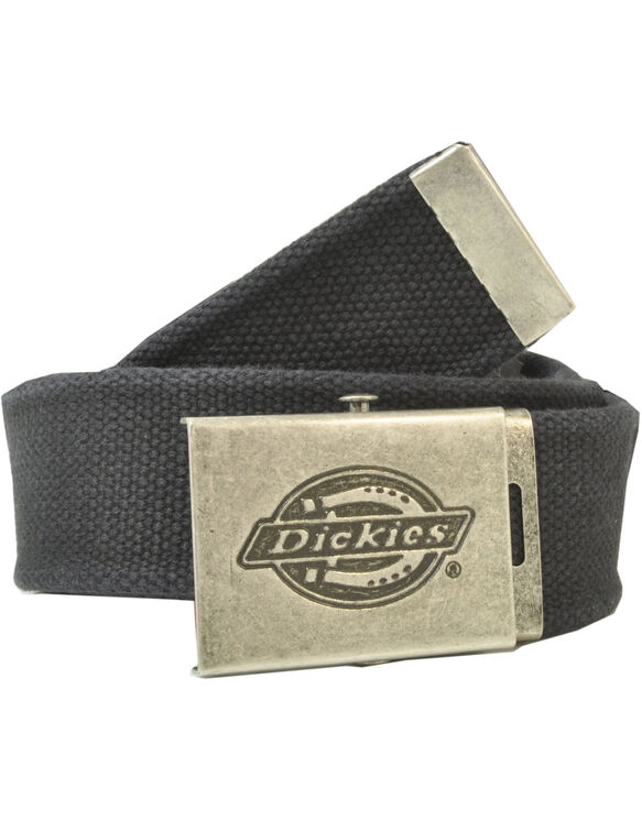Military-Style Fabric Belt - BLACK (BK)