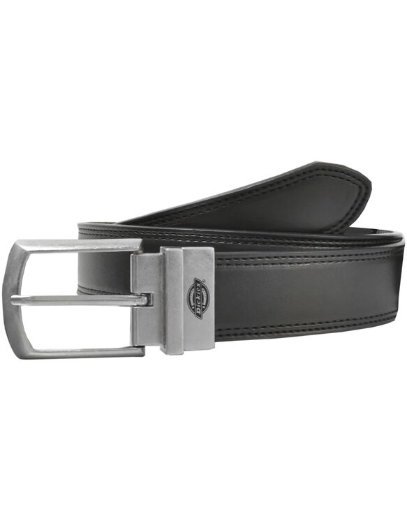Leather Reversible Belt - BLACK (BK)