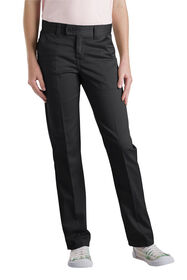 Girls' Slim Fit Straight Leg Stretch Twill Pant, 7-20