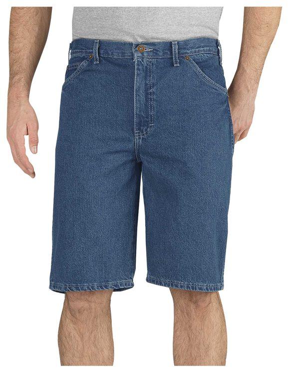 "11"" Regular Fit 6-Pocket Denim Short - STONEWASHED INDIGO BLUE (SNB)"