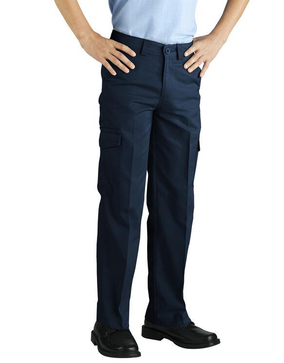 Boys' Cargo Pant - RINSED DARK NAVY (RDN)