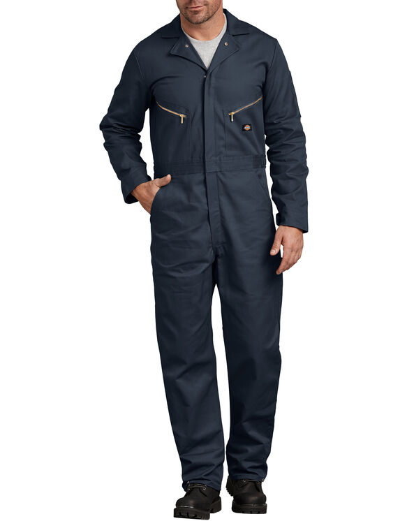 Deluxe Cotton Coverall - DARK NAVY (DN)