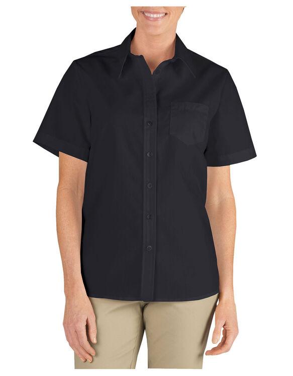 Women's Short Sleeve Stretch Poplin Shirt
