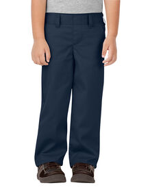 Toddler Classic Fit Straight Leg Pull-on Pant - DARK NAVY (DN)