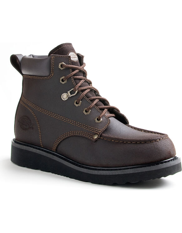 Men's Trader Plus Work Boots - DARK BROWN-LICENSEE (FDB)