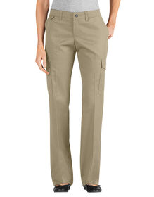 Women's Relaxed Straight Server Cargo Pant - DESERT SAND (DS)