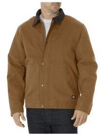 Sanded Duck Sherpa Lined Jacket - BROWN DUCK (BD)
