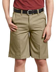 Boys' FlexWaist® Flat Front Short, 8-20 - KHAKI (KH)