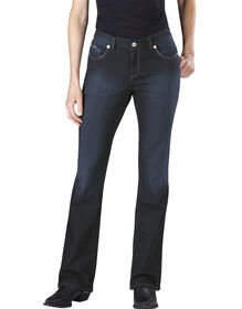 Women's Slim Boot Cut Denim Jean - ANTIQUE DARK 1 (ATD1)