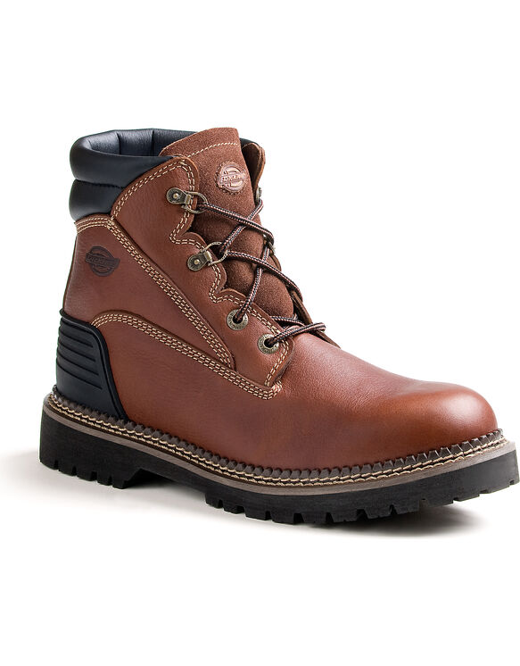 Men's Heritage Work Boots - SADDLE BROWN-LICENSEE (FSB)