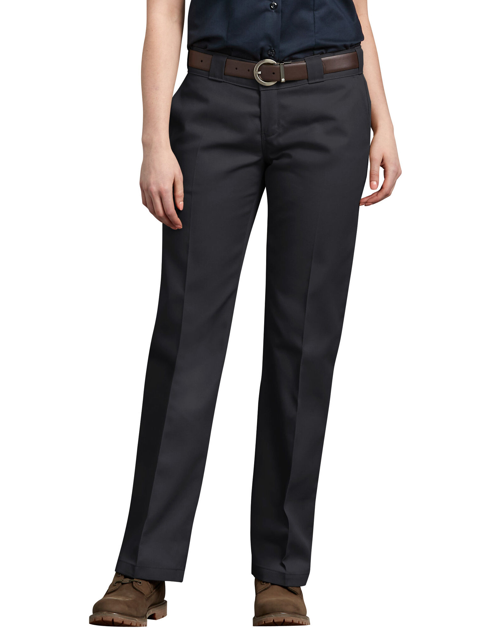Unique Dickies Women39s Slim Bootcut Twill Pants  Walmartcom