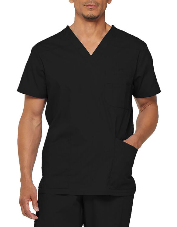 Men's EDS V-Neck Scrub Top