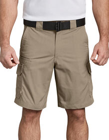 """Tactical 10"""" Relaxed Fit Stretch Ripstop Cargo Short - DESERT SAND (DS)"""