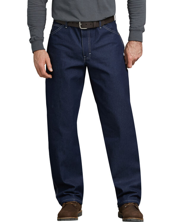 Relaxed Straight Fit Carpenter Denim Jean