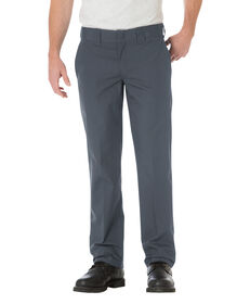 Slim Straight Fit Poplin Work Pant - CHARCOAL (CH)