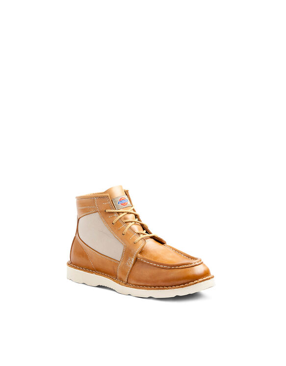 Men's Reed English Moc Toe Boots - TAN (TN)