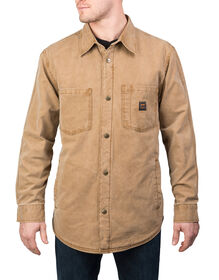 Walls® Vintage Duck Shirt Jacket - WASHED PECAN (WPC9)
