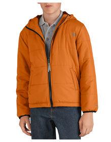 Kids' Puffer Jacket, 8-20 - MANDARIN (AN)
