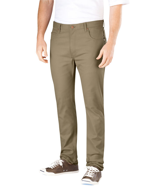 Flex Slim Skinny Fit 5-Pocket Pant - BRITISH TAN (BT)
