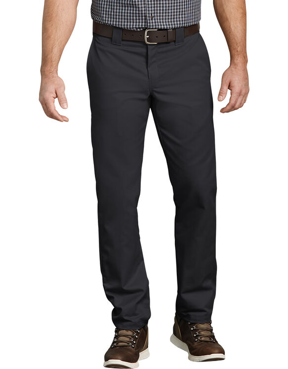 Flex Slim Fit Taper Leg Work Pant - BLACK (BK)