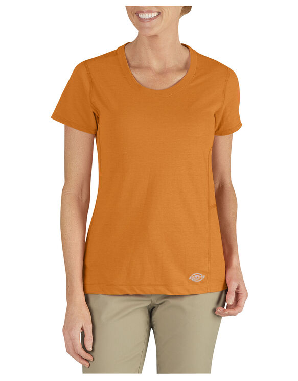 Women's Performance Short Sleeve DriRelease® Tee - MANDARIN (AN)