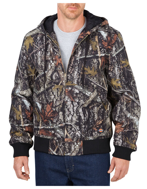 Sanded Duck Insulated Hooded Jacket - CAMO NEW CONCEAL (CNC)