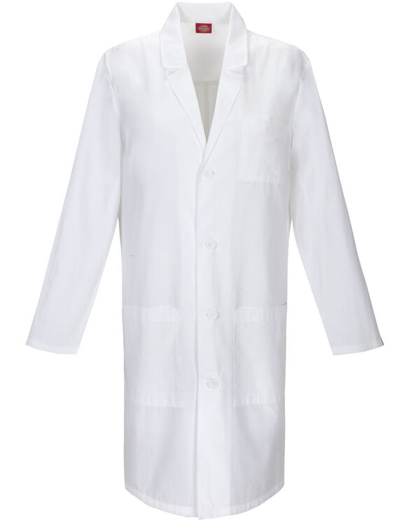"Unisex EDS Signature 40"" Lab Coat - DICKIES WHITE-LICENSEE (DWH)"