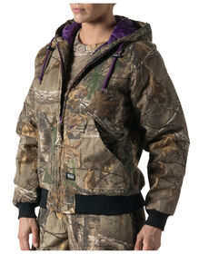Walls® Women's Hunting Insulated Hooded Jacket - REAL TREE XTRA (AX9)