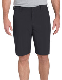 "Regular Fit 10"" Flex Hybrid Short - BLACK (BK)"