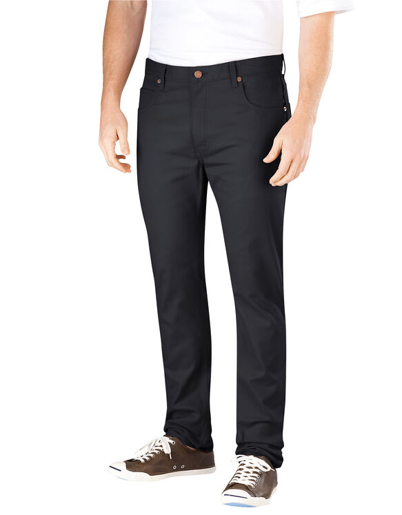 Flex Slim Skinny Fit 5-Pocket Pant - BLACK (BK)