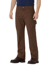 Relaxed Straight Fit Double Knee Carpenter Duck Jean - RINSED TIMBER (RTB)