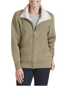 Women's Sherpa Bonded Fleece Jacket - DESERT SAND (DS)