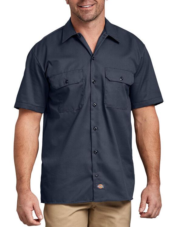 Short Sleeve Work Shirt - DARK NAVY (DN)