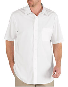 Short Sleeve Executive Dress Shirt - WHITE (WH)