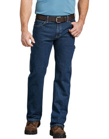Flex Relaxed Fit Straight Leg Carpenter Denim Jean - FLEX RINSED INDIGO (FRI)