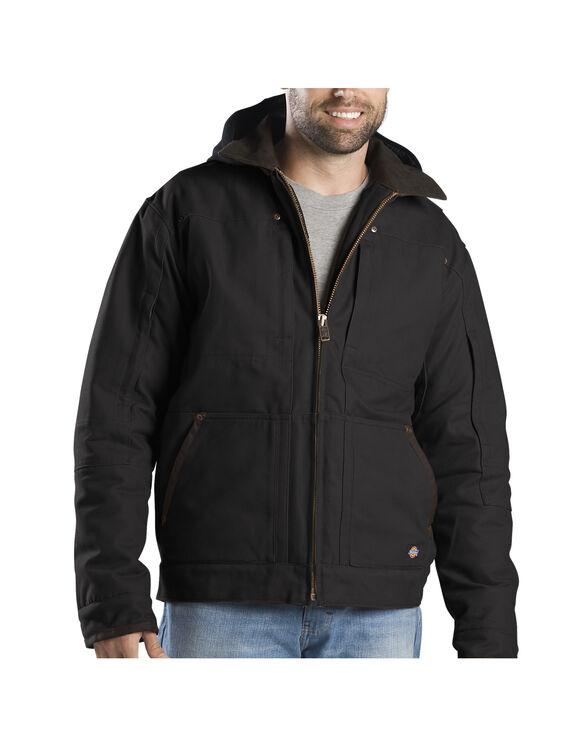 Sanded Duck Hooded Jacket