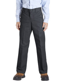 Boys' Slim Fit Straight Leg Pant, 8-20 - BLACK (BK)