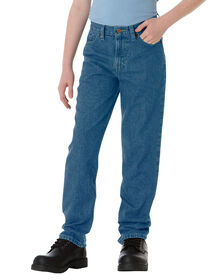 Boys' Classic Fit Straight Leg 5-Pocket Denim Jean, 8-20