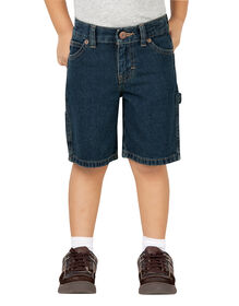 Toddler Relaxed Fit FlexWaist® Denim Carpenter Short - TINTED HERITAGE KHAKI (THK)
