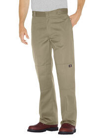 Loose Fit Double Knee Work Pant - KHAKI (KH)