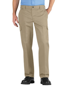 Industrial Relaxed Fit Straight Leg Cargo Pant - DESERT SAND (DS)