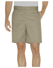 """8"""" Relaxed Fit Traditional Flat Front Short"""