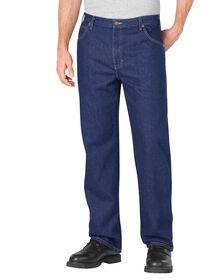 Loose Fit Straight Leg 5-Pocket Denim Jean - STONEWASHED INDIGO BLUE (SNB)