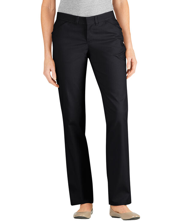 Perfect  And Button Down Shirt With Wide Leg Pants And Cap Toe Ballet Flats